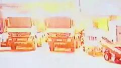 Появилось видео с места взрыва автоцистерны в Губкинском, где погиб человек