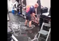 Сочи встретил первых участников «Формулы-1» затопленным треком