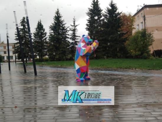В Тутаеве появился новый арт-объект «Медведь трансвестит»