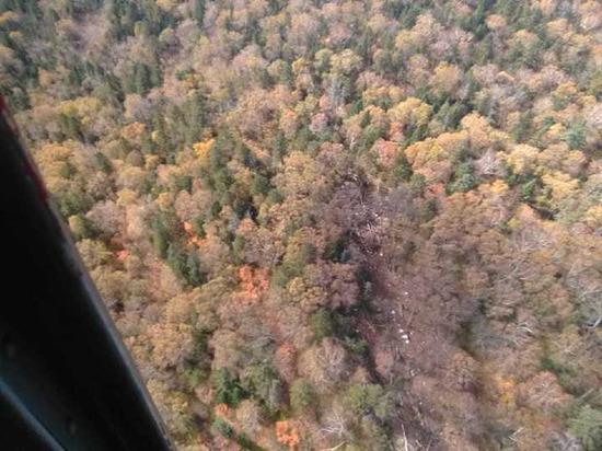 Спасатели добрались до места крушения Ан-26 в Хабаровском крае