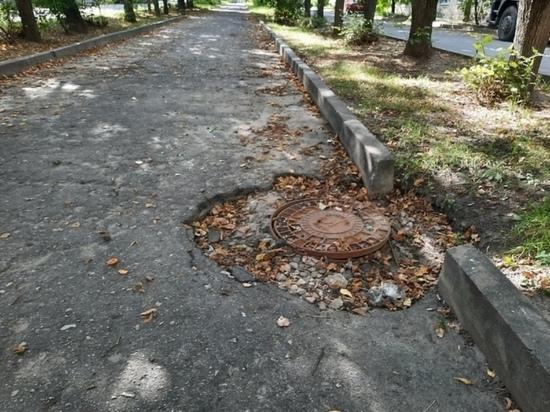 На ремонт аллеи на Платова в Калуге требуется 2,7 млн рублей