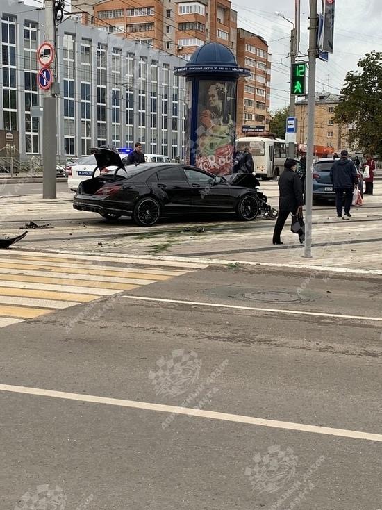 В Калуге случилась первая авария возле недавно открытого Дворца спорта