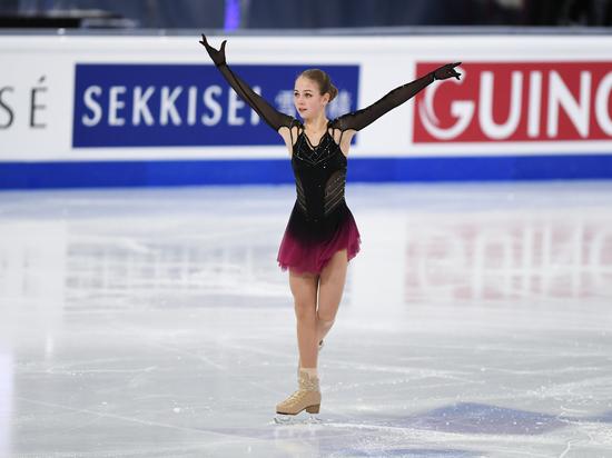 Трусова выиграла короткую программу на первом этапе Кубка России