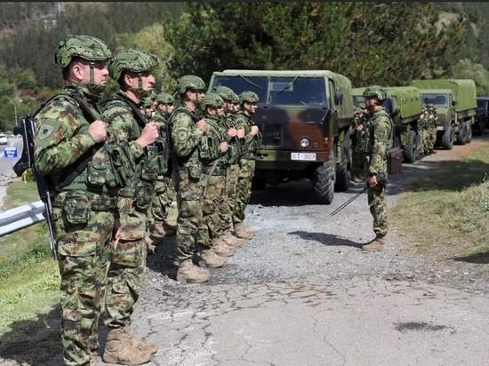 Высокопоставленные военные Сербии посетили гарнизон Рашка из-за напряженной ситуации
