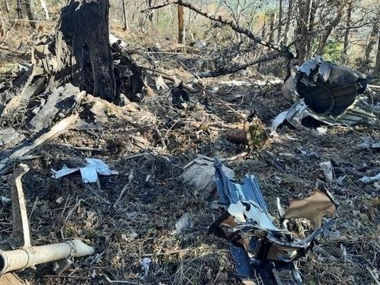 На месте крушения Ан-26 под Хабаровском нашли останки членов экипажа