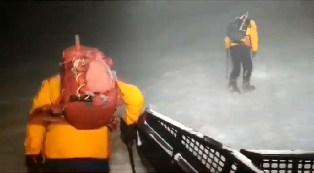 Трагедия на Эльбрусе, пять туристов погибли: фото спасательной операции