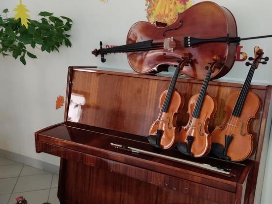 Детская школа искусств в Новом Осколе получила оборудование на 5 млн рублей