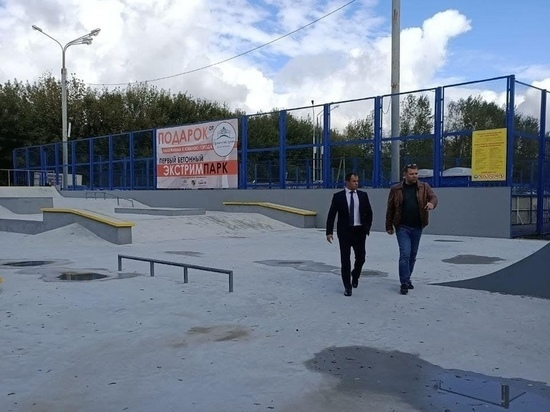 В новом скейт-парке Калуги не соблюдаются меры безопасности