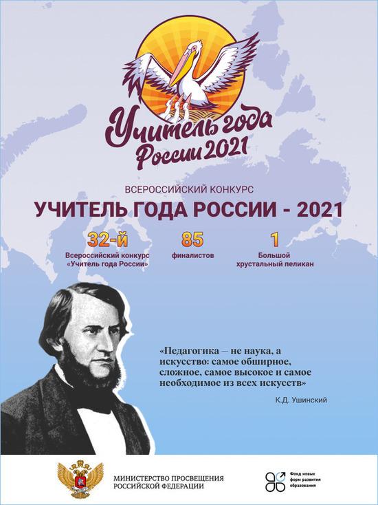 Здесь пройдет Всероссийский конкурс «Учитель года России – 2021»