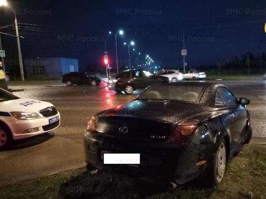 За 15 минут на Правобережье в Калуге случились две аварии с пострадавшими