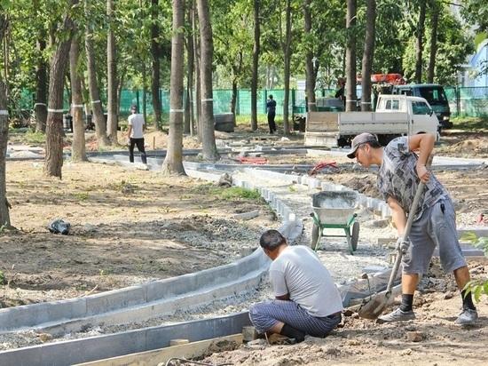 Более 30 парков благоустроили в Приморье