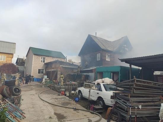 В Бурятии на месте пожара нашли труп человека