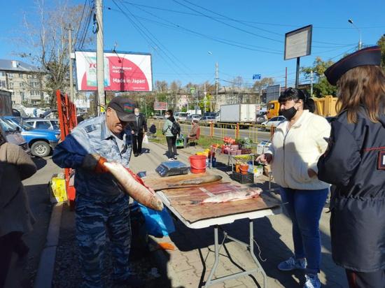 В Хабаровске прошел рейд по пресечению несанкционированной торговли
