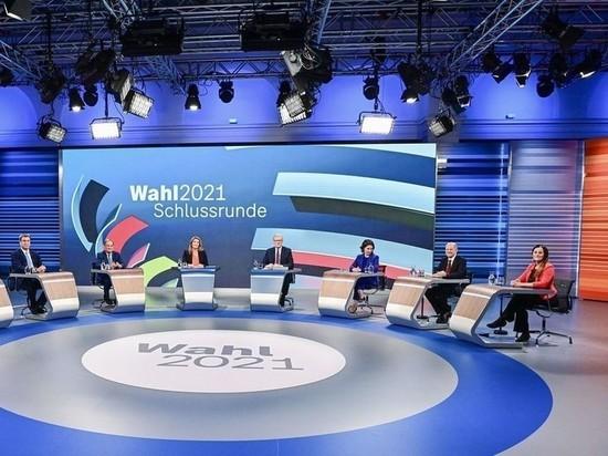 Германия: Немецкий телеканал ARD по ошибке показал «итоги» выборов в Бундестаг