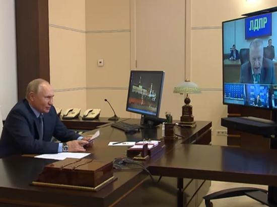 Путин: выборы прошли открыто и законно