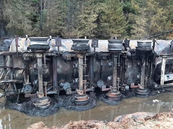 Прокуратура проведёт проверку по факту ДТП с участием бензовоза в Лешуконском районе