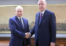 Встреча Владимира Путина и Реджепа Тайипа Эрдогана на саммите в Сочи состоится 29 сентября