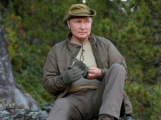 Безопасность президента Владимира Путина на отдыхе обеспечивается должным образом