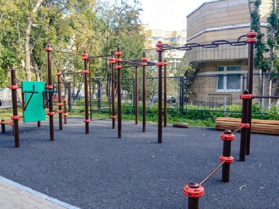 13 дворовых территорий  благоустроили в Екатеринбурге