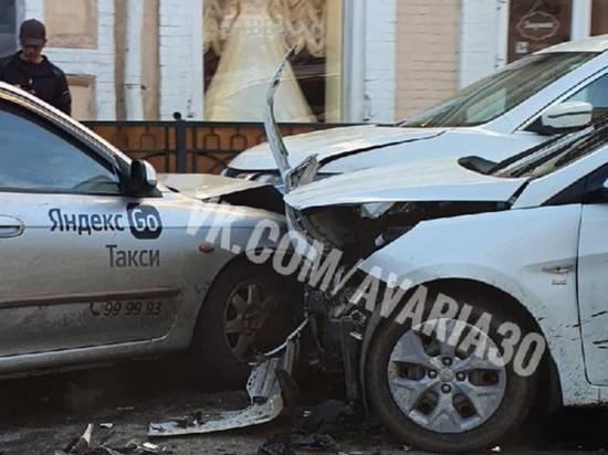 В центре Астрахани произошла массовая авария