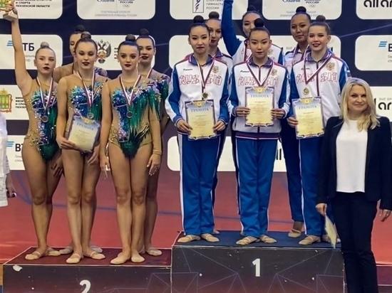 Калмыцкие гимнастки стали лучшими в России