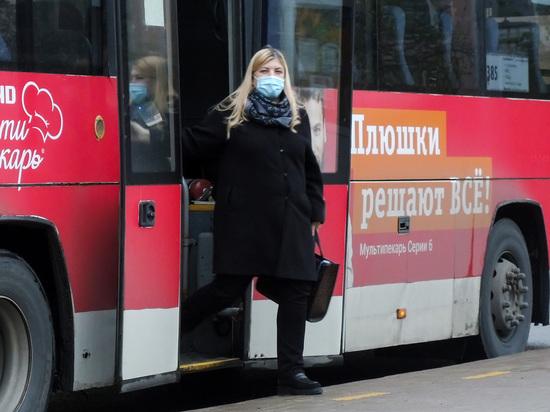 Жителей Воронежа начнут штрафовать за проезд в транспорте без масок