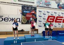 Абаканские теннисистки завоевали награды всероссийских соревнований