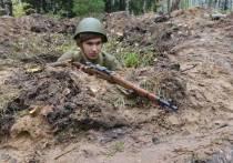В Марий Эл советские солдаты отбили атаку фашистов