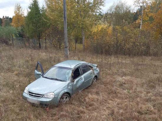 В Кирове разбился водитель  «Шевроле Лачетти»