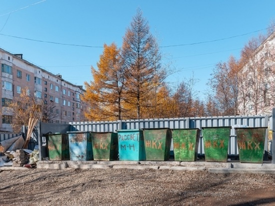 Реконструкция площадок ТБО началась в посёлке Сокол на Колыме