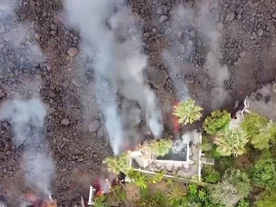 Лава из вулкана на Пальма спровоцирует взрывы при соприкосновении с океаном