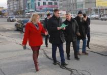 В Новосибирске обновят два километра улицы Кирова до конца октября