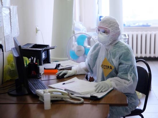 В России выявили 21 559 новых случаев коронавируса