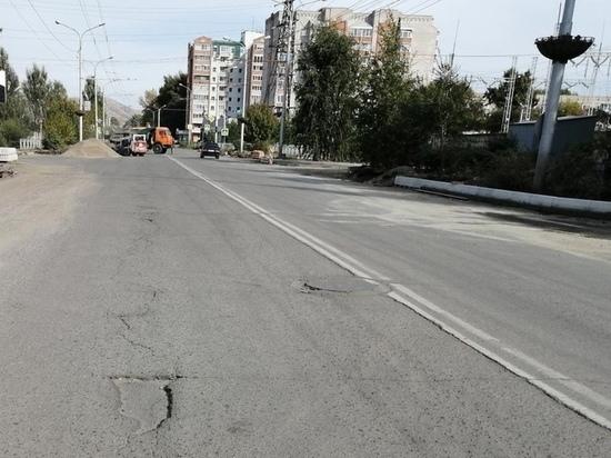 Улицу Крылова в Абакане не откроют для проезда до 5 октября