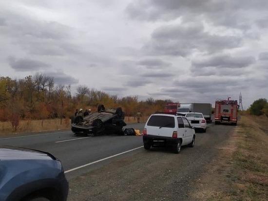 На трассе» Оренбург-Илек» погиб водитель, три пассажира пострадали