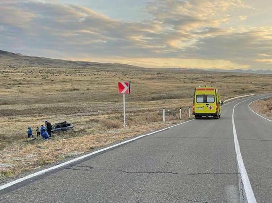 За неделю в Туве пять человек травмированы, трое погибли в ДТП