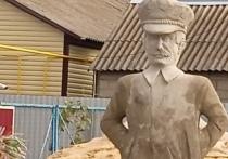 В Советском районе Курской области появился памятник Сталину