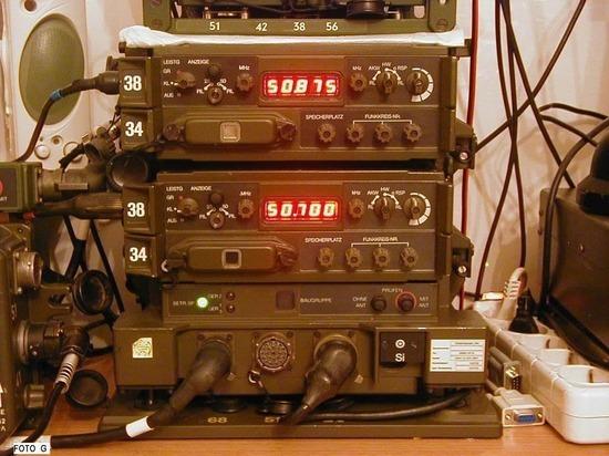Германия впервые заменит аналоговые радиостанции 40-летней давности на цифровые в военной технике