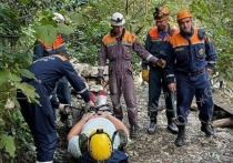 Спасатели в Сочи вынесли из леса мужчину с сломанной ногой