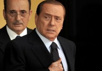Путин поздравил Берлускони с 85-летием
