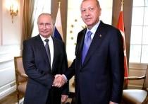 Начались переговоры Путина и Эрдогана в Сочи