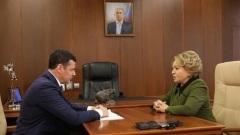 Валентина Матвиенко высказалась о выборах в Ярославской области