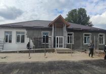 В ноябре в Брюховецком районе завершат строительство амбулатории врача общей практики