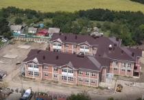 Детский сад на 190 мест в посёлке Водники готов на 79%