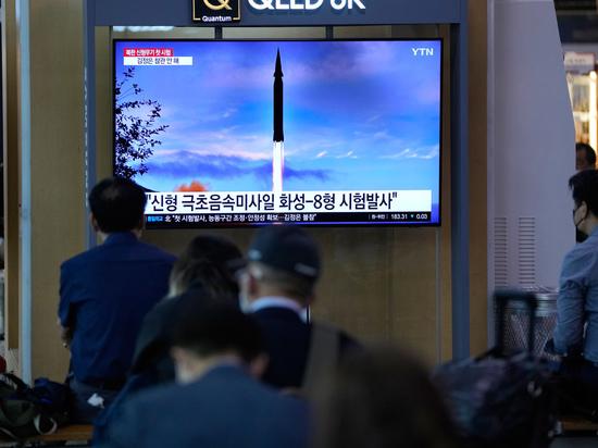 Северная Корея рассказала об «удивительной» новой ракете: запуски продолжаются
