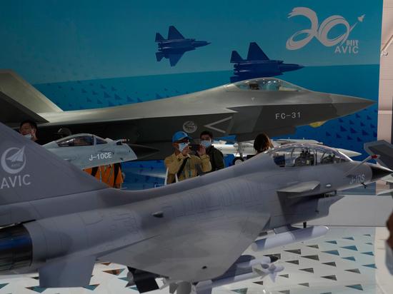 Китай показал облик своего истребителя шестого поколения