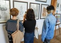 В Астраханском кремле открылась выставка «Пространство творчества»