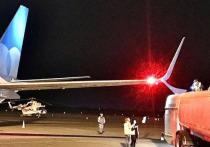 В международном аэропорту Астрахани произошла авария
