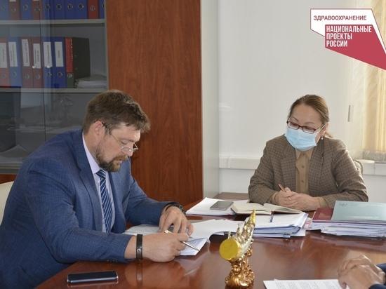 Туву посетили эксперты Центра Илизарова