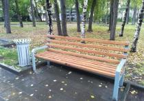 В Новосибирске благоустроили сквер на улице Кирова за 2,8 млн рублей